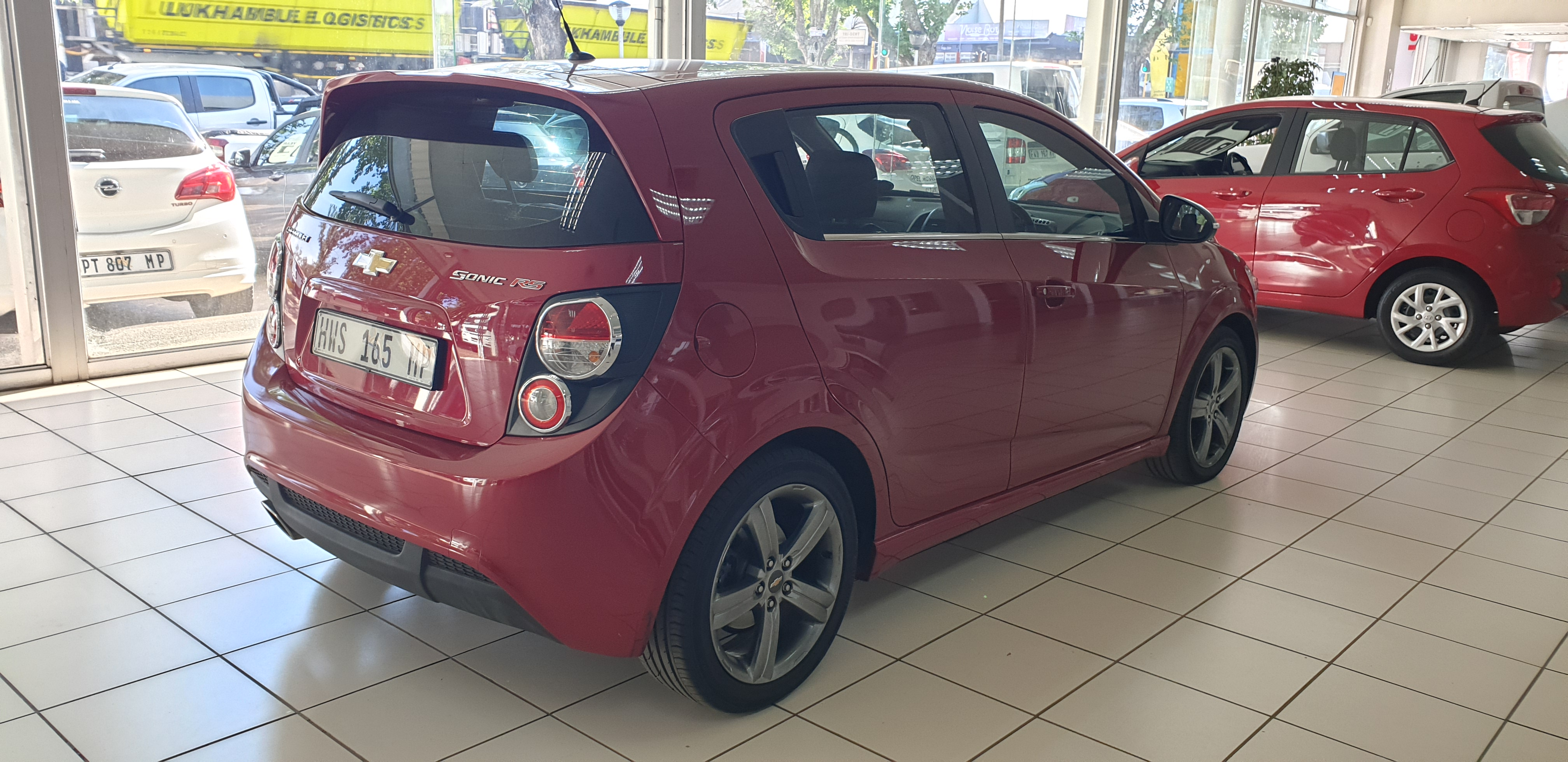 CHEVROLET	SONIC	1.4T RS 5DR